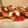 Proteinske palačinke s bananommm i mmmalinama