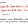 Ivana Španović i dijeta na vodi, ili kako više nemam živaca za ovakve novine