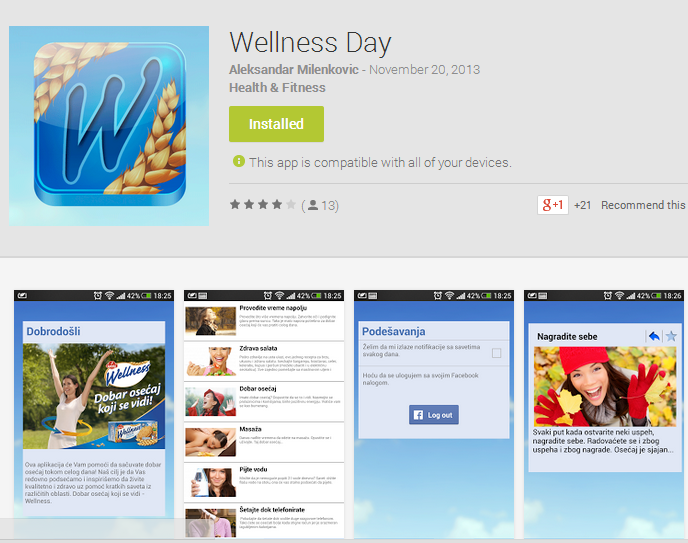wellness day app