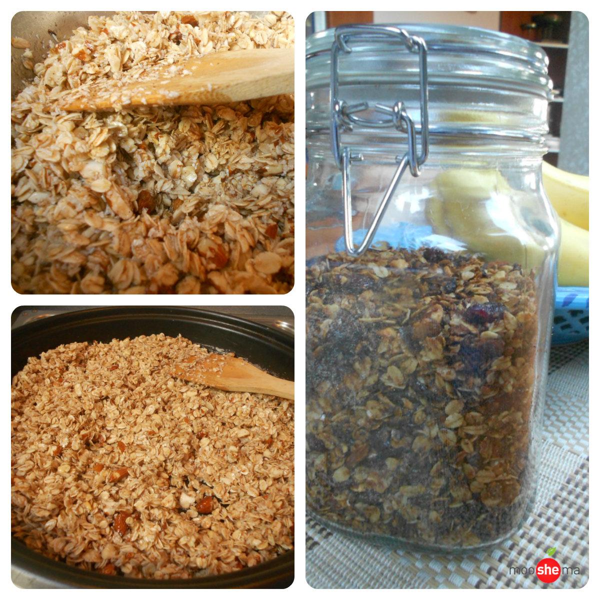 domaci granola musli priprema