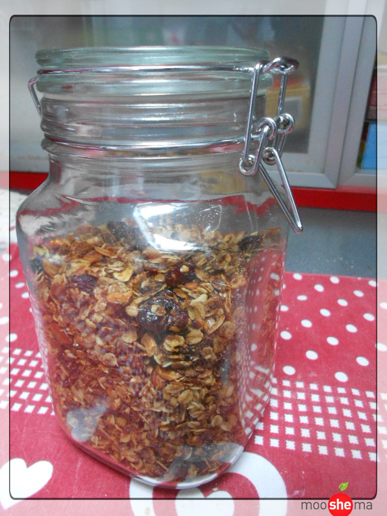 domaci granola musli