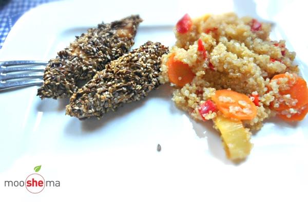 piletina u susamu i semenkama lana