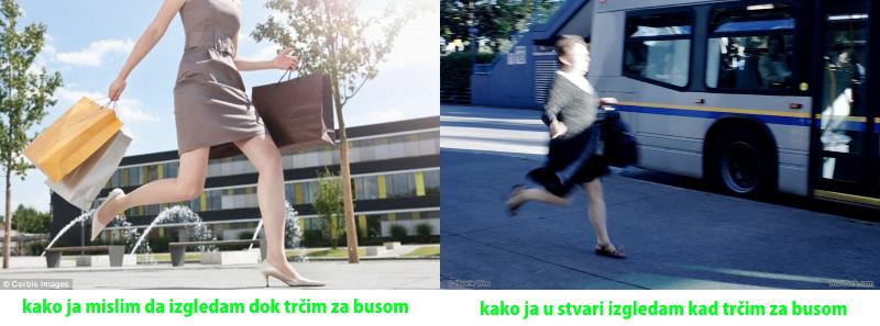 trcanje za busom